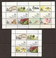 New Zealand 2014 Personalised stamps MS x 2  MNH