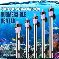 50W-500W Aquarium Submersible Water Heater Heating Rod For Fish Tank Temperature