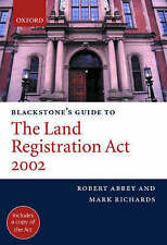 NEW Blackstone's Guide to the Land Registration Act 2002 (Blackstone's Guides)