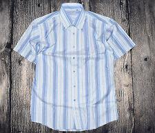 Gestreifte Herren-Freizeithemden aus Baumwollmischung