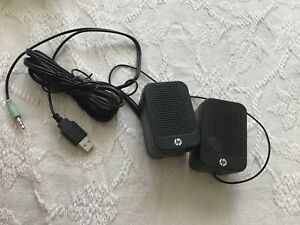 HP small computer speakers
