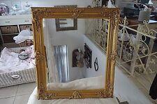 Nostalgie Bilderrahmen Barock Rokoko Rahmen Holz Altgold 74x64 cm Antik Look NEU
