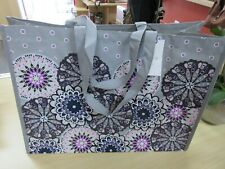 Vera Bradley Market Tote Reusable Bag Mimosa Medallion Print New With Tag