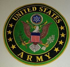 "US ARMY  PATCH  Iron / Sew-on Patch  10"" Approx"