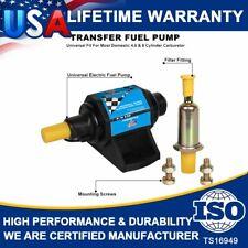 Mighty Mite 4-7 PSI 12V Universal Electric Gasoline Fuel Pump 35GPH W/Carburetor