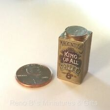 Dollhouse miniature food 1:12 Mackintosh's King of All Toffee NEW