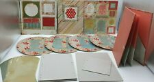 Chipboard Album and Frame Kit - FLORAL LOVE