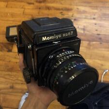 Mamiya RB67 Pro S Medium Format SLR Film Camera with 90mm lens, 65mm lens, etc.