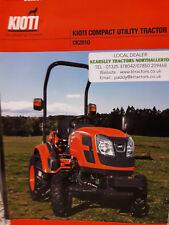 Product Brochure Kioti CK2810 Compact Tractor Sales Service & Parts .