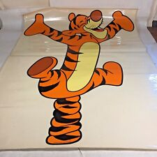 Vtg Sears, Roebuck & Co Walt Disney TIGGER Vinyl Sticker Decal Mural Winnie Pooh