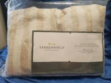 Threshold Wide Padded Ironing Board Cover Beige Stripe New *