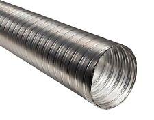 """Flexible Chimney Flue Liner 100mm / 4"""" - 0.5m / 50cm Stainless Steel Flexi Pipe"""