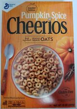NEW PUMPKIN SPICE CHEERIOS CEREAL 12 OZ LIMITED EDITION FREE WORLDWIDE SHIPPING