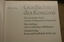 Sammlerbuch Geschichte des Kostüms, Mode, Trachten, Kleider, Designer, Schneider