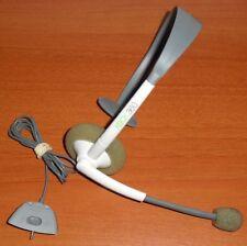 Headset (auricular + micrófono) usado blanco Xbox 360 Microsoft ORIGINAL OFICIAL
