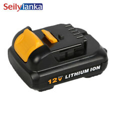 for Dewalt 12V 10.8V 2500mAh  power tool battery DCB120 DCB100 DCT410S1 DCT414S1