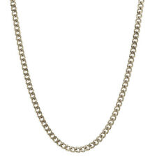 Silver Chain Curb Chain 1,4 mm 40 cm Solid 925 Sterling Silver High Quality Neck