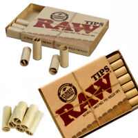 RAW PRE ROLLED TIPS FILTER TIPS ROACHES PAPER NATURAL ROLLING PERFECTO