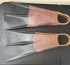 Voit Duck Feet ORANGE BLACK Scuba  Swim Board Fins  Super X Large Custom