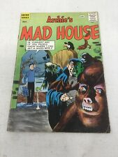 ARCHIE'S MAD HOUSE #16 1961-MLJ/ARCHIE-HORROR ISSUE-DRACULA-WOLFMAN