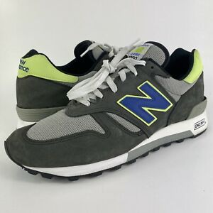 New Balance 1300 Grey/Green/Blue Made In USA M1300BK Men's Size 12
