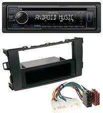 Kenwood CD AUX MP3 USB 1DIN Autoradio für Toyota Auris (ab 2007)
