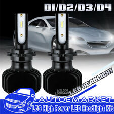 2PCS D1S D1R D3S D3R LED Headlight Kit Bulbs for BMW Z4 2009-2016 Replace HID