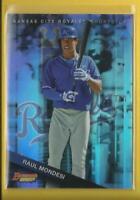Raul Mondesi Jr RC 2015 Bowman's Best Top Prospects REFRACTORS Card #TP-4 Royals