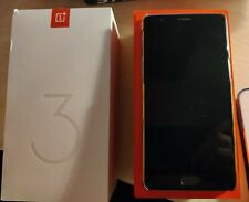 OnePlus 3T - 64GB - Gun Metal (Unlocked) Smartphone with Rosewood Case