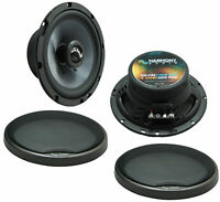 Fits Chrysler Prowler 1997-2002 Factory Speakers Upgrade Harmony C65 Package New