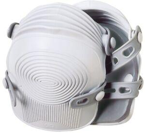 NEW CLC Custom LeatherCraft 361 UltraFlex Pro Non-Skid WHITE Kneepads