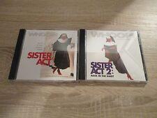 Sister Act 1 + 2   Soundtrack  2 CD´s  Musik  Whoopie Goldberg