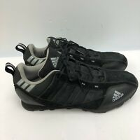 Adidas Cycling Shoes Men Size 12 Black Color