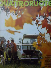 Quattroruote n°106 1964  - Test su strada RENAULT R8 Major   [Q79B]