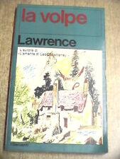 LA VOLPE David Herbet Lawrence Garzanti 1976 Romanzo The Fox trad Carlo Linati