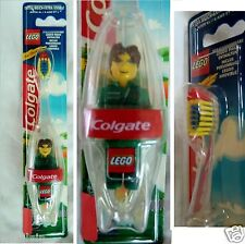 COLGATE & LEGO Zahnputz-Set, Zahnbürste + Lego-Figur Männchen grün NEU