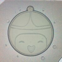 Flexible Resin Mold Adventure Time Princess Bubblegum Themed Mould