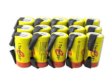 15 Tenergy NiCd SubC 2200mAh Batteries For PowerTools With Tabs