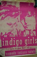 Indigo Girls Poster, Original