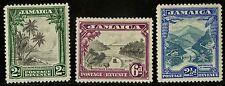 Jamaica   1932   Scott # 106-108   Mint Llightly Hinged Set