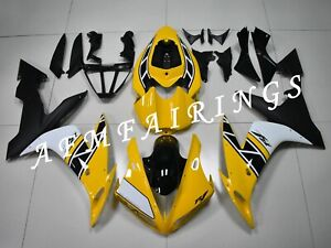 Yellow Anniversary ABS Injection Mold Bodywork Fairing Kit for YZF R1 2004-2006