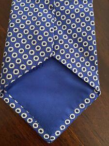 Turnbull & Asser Blue/White Tie