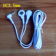 5 x Replacement 3.5mm 1 to 2 Electrode Lead Wire Machine Cable for Massager Tens