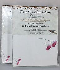 Ampad 35785 Wedding Invitations with Envelopes 50 For Laser Or Inkjet Printer
