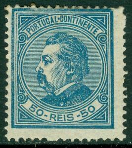 EDW1949SELL : PORTUGAL 1881 Scott #56 Mint Original Gum Hinged. Cat
