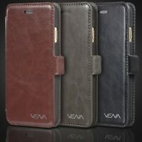 """Vena Vintage PU Leather Wallet Stand Case w/ Card Slots For Apple iPhone 6 4.7"""""""