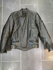 Belstaff Twin Track Leather Motorbike Jacket 80s Vintage Retro