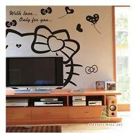 Wall Stickers Nursery Kids Tree Flower Art Decals Butterfly Vinyl Decors--P67