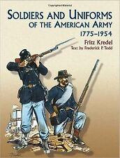 Soldiers and Uniforms of the American Army, 1775-1954 (Dover Military..NUOVO