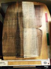 Sinamay Fabric remnants bundle brown/cream